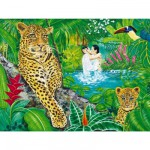 Puzzle 1500 pices - Couple dans la Fort vierge