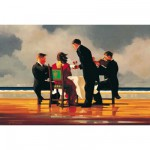 Puzzle 1500 pices - Jack Vettriano : Hommage  un amiral dcd