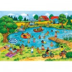 Puzzle 2 x 20 pices - En fonction des saisons