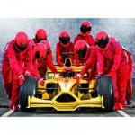 Puzzle 200 pices XXL - Equipe de Formule 1