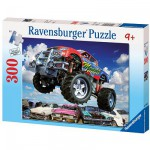 Puzzle 300 pièces - Monster truck turbo