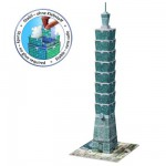 Puzzle 3D : 216 pices : Taipei 101, Tawan