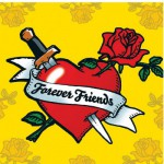 Puzzle 500 pices - Coeur : Forever friends