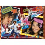 Puzzle 500 pices - High School Musical - Troy et Gabriella