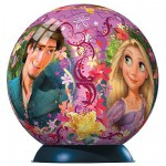 Puzzle Ball 108 pices - Disney Raiponce