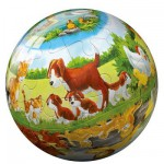 Puzzle Ball 15 pices - Mes petits chiens
