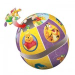 Puzzle ball 24 pices - Winnie l'ourson : Winnie et ses amis
