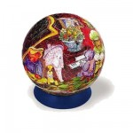 Puzzle Ball 240 pices - La famille ours