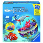 Puzzle ball 40 pices : Le monde de Nmo