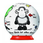 Puzzle ball 54 pices - Sheepword : Tout seul