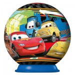 Puzzle ball 54 pices : Cars 2 : Porto Corsa