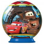 Puzzle ball 54 pices : Cars 2 : Tour Eiffel