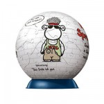Puzzle Ball 60 pièces - Pupsegal - Sheepworld : Rappeur