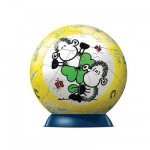 Puzzle Ball 60 pices - Pupsegal - Sheepworld : Trfle du bonheur