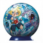 Puzzle ball 60 pices - Bakugan : Bleu
