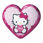 Puzzle ball 60 pièces coeur - Hello Kitty Love