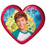 Puzzle ball 60 pices coeur - High School Musical 2