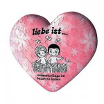 Puzzle ball 60 pices coeur - Liebe ist... Promenade bucolique