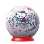 Puzzle ball 60 pièces - Hello Kitty : Dragon