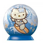 Puzzle ball 60 pièces - Hello Kitty : Surf