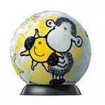 Puzzle Ball 60 pices - Sheepworld : Mon soleil