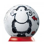 Puzzle Ball 60 pices - Sheepworld : Sans toi, tout est nul !