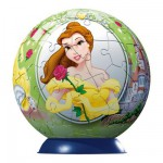 Puzzle Ball 60 pices - Princesses Disney : La Belle et la Bte