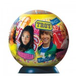 Puzzle ball 96 pièces - High School Musical