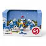 Figurines Schtroumpfs : Pack de 6 figurines : Le Film
