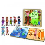 Magnetic Figures to Dress Up - Max Learns about History