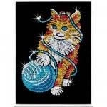 Kit paillettes Art Sequin : Chat