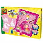 Aquarelle Art Easy Aquarelle : Princesse