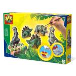 Kit de moulage Dinosaures