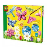 Plaster Moulding Kit - Sparkly Butterflies