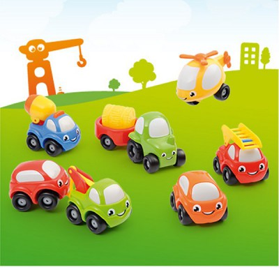 Véhicules Vroom Planet Coffret collector 8 Mini Bolides