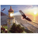 Puzzle 1000 pices - Steve Sundram : Eagle Light