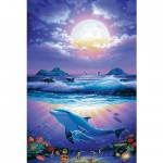 Puzzle 1000 pices - Steve Sundram : Heavenly Ocean