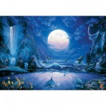 Puzzle 1000 pices - Steve Sundram : Moonlight Splash