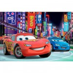 Puzzle 100 pices - Cars 2 : Tokyo by night