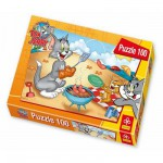 Puzzle 100 pices - Tom et Jerry : Grillades