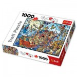 Puzzle 1000 pices - Chaotic : Les pirates