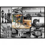 Puzzle 1000 pices - Paris : Collage