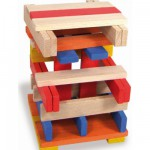 Cubes de construction : Batibloc couleur 100 pices