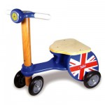Triporteur scooter Union Jack