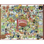 Puzzle 1000 pices - Histoire du football amricain
