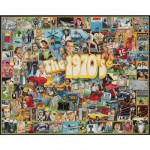 Puzzle 1000 pices - Les clbrits des annes 70