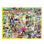 Puzzle 1000 pices - Les clbrits des Fifties