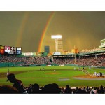 Puzzle 550 pices - Arc en ciel sur Fenway Park, Boston, USA