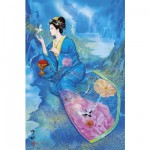 Puzzle 1000 pices - Estampe japonaise - Kunpu : The Balmy Breeze