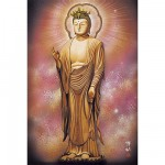 Puzzle 1000 pices -  Statue de Buddha